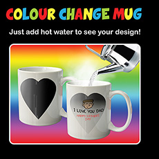 Colour Changing Message Mug