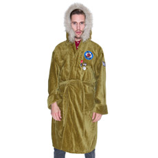 Get your Mod on with this Parker Dressing Gown!