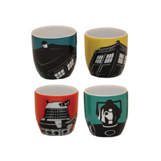 Doctor Who Egg Cup Set
