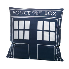 Doctor Who Tardis Cushion