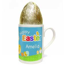 A colourful personalised Easter mug!