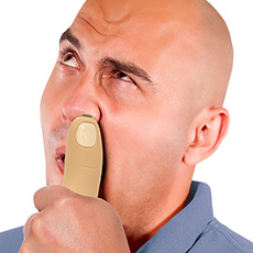 Finger Nose Hair Trimmer