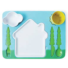 Landscape Dinner Set