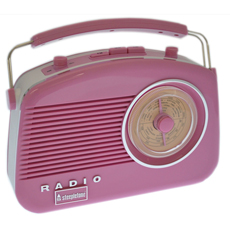 Let listening to the radio become a retro experience!