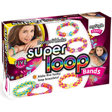 Loom bands here, Loom bands there, Loom bands everywhere!