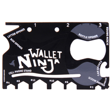 Credit-card-sized pocket multi-tool!