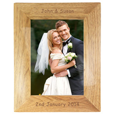 Personalised Wooden Frame