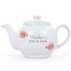 Personalised Vintage Rose Teapot