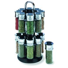 16 Jar Carousel Spice Rack