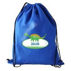 Personalised Dinosaur Swim Bag