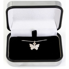 Personalised Butterfly Necklace
