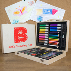 Complete personalised art set!