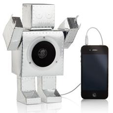 Beat Bot – Flat Pack Speaker Robot