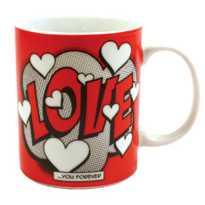 Comic Love Mug
