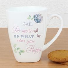 Personalised Secret Garden Mug