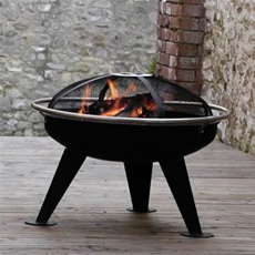 Safety Firepit Brazier and BBQ