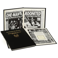 Personalised Football Team History Book