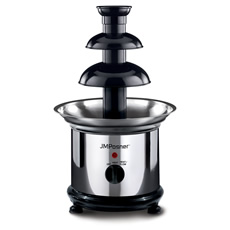 The original stainless steel chocolate fountain for use in your own home!