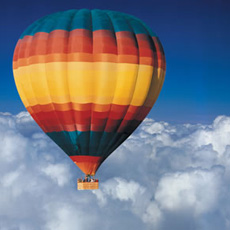 Champagne Hot Air Balloon Flight Experience Day