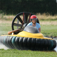 Hovercraft Flying for One Experience Day