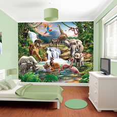 Walltastic Jungle Mural Wall Stickers