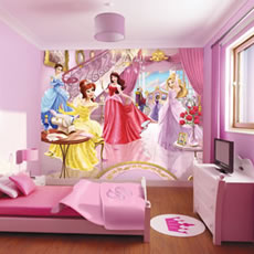 Walltastic Fairy Princess Mural Wall Stickers