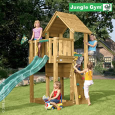 Jungle Gym Cubby Climbing Frame