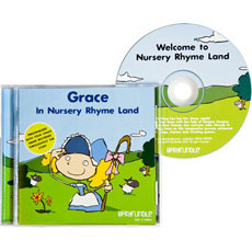 Personalised Story CD - Nursery Rhyme Land