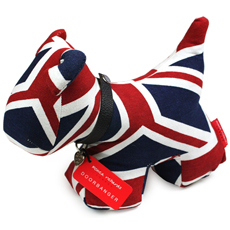 Puppy Bumperstop Doorstop - Union Jack