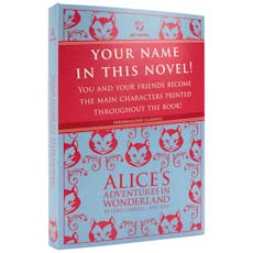 Personalised Classics - Alice's Adventures in Wonderland