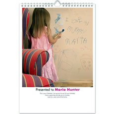 Best Mum Personalised Calendar