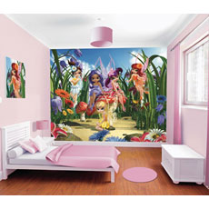 Walltastic Magical Fairies Mural Wall Stickers