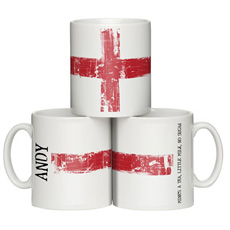 Personalised England Mug
