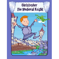 Personalised Knight Book - Your Child the Medieval Knight
