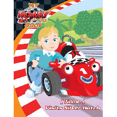 Personalised Roary Book - Your Child Visits Silver Hatch