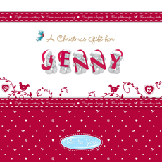 Personalised Me to You Book - Christmas