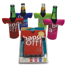 Beer Bottle Chillers - Hands Off