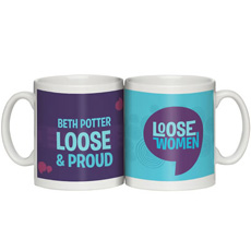Personalised Loose Women Mug