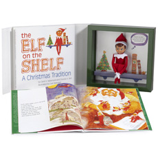 Christmas is coming again and Santa is already busy deciding which children deserve gifts this year. Elf on the Shelf tells Santa who has been naughty or nice.
