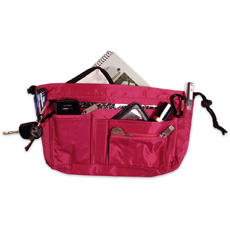 Handbag Organiser - Hot Pink