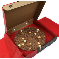Chocolate Pizza - Heavenly Honeycomb - 10''