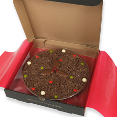 Christmas Chocolate Pizza - 10'