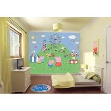 Walltastic Peppa Pig Mural Wall Stickers