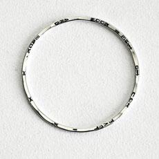 Bespoke Personalised Silver Bracelet