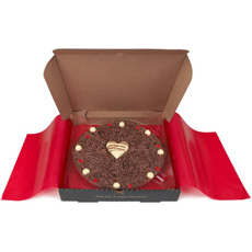 Lovers Chocolate Pizza - 10'