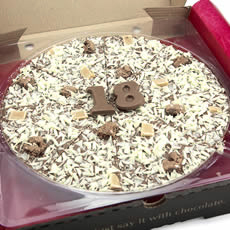 18th Birthday Chocolate Pizza - 10'