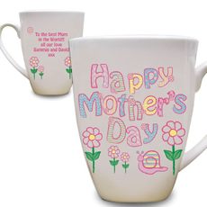 Personalised Daisy Mothers Day Mug