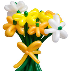Balloon Flower Bouquet