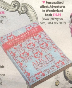 Personalised Classics - Alices Adventures in Wonderland