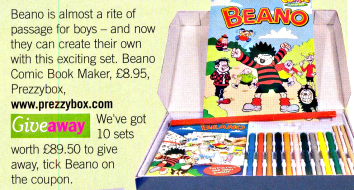 The Beano Comic Book Maker
